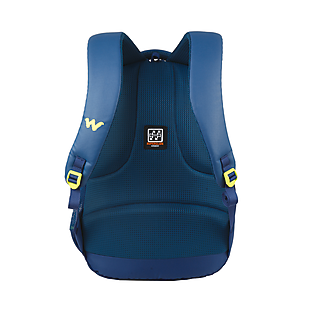 Wildcraft Maestro Plus Laptop Backpack With Back Ventilated System - Navy Coated