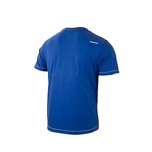 Wildcraft Men Crew T Shirt - Blue Melange