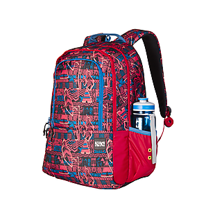 Wildcraft Wiki 2 Aztec Backpack - Red