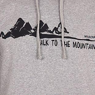 Wildcraft Wildcraft Men Hooded Sweatshirt For Winter - Grey Melange