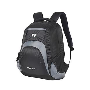 Wildcraft Hopper Laptop Backapack With Internal Organizer - Black