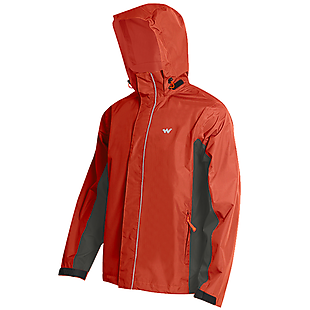 Wildcraft Hypadry Pro Unisex Rain Cheater - Orange