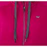 Wildcraft Women Zippered Hooded Sweatshirt - Pink