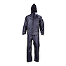 Wildcraft Unisex Self-Packable Rain Jacket Suit - Black